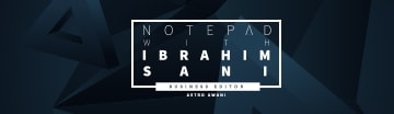 Notepad with Ibrahim Sani